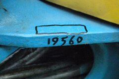 U-008 19560 ⑧